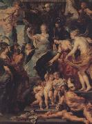 Peter Paul Rubens The Felicity of the Regency of Marie de'Medici (mk01) oil painting picture wholesale